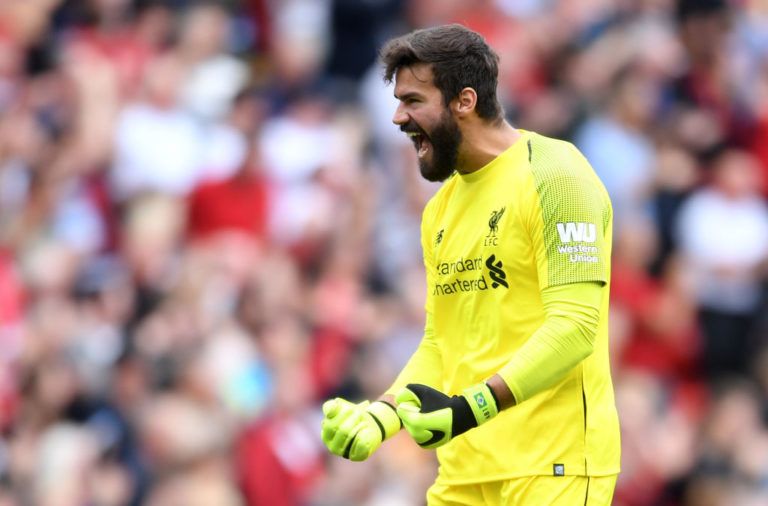 The Liverpool defence will look much stronger with Alisson back in goal.