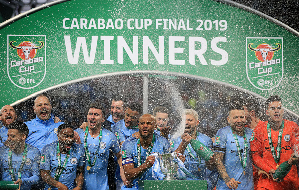 Carabao Cup EFL Cup Manchester City