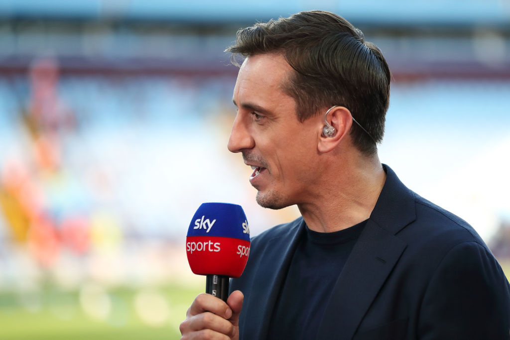 """More emotional than Old Trafford"": Gary Neville makes huge statement about Anfield atmosphere"