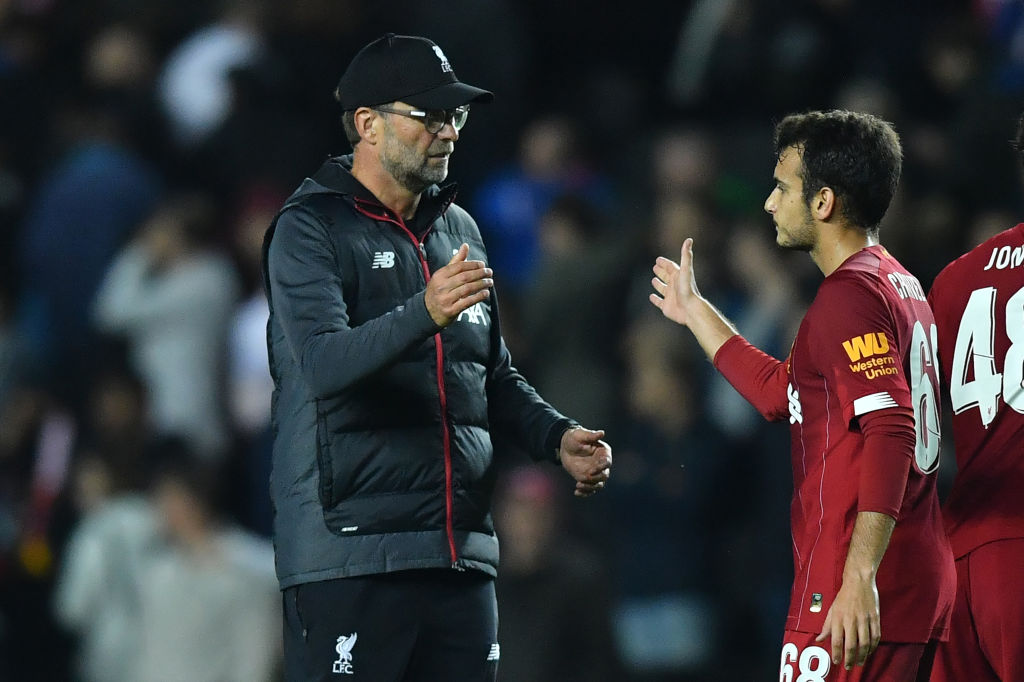 Pedro Chirivella has been defended by Klopp.