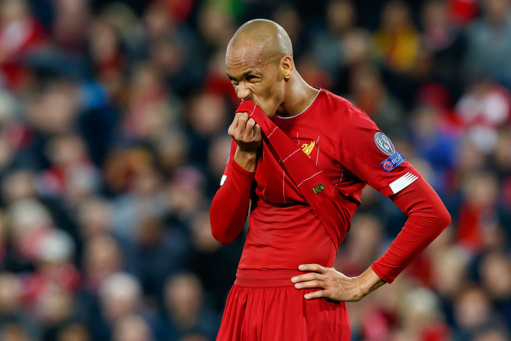 Liverpool fans haven't seen the best of Fabinho yet.