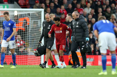 Mohamed Salah, injury