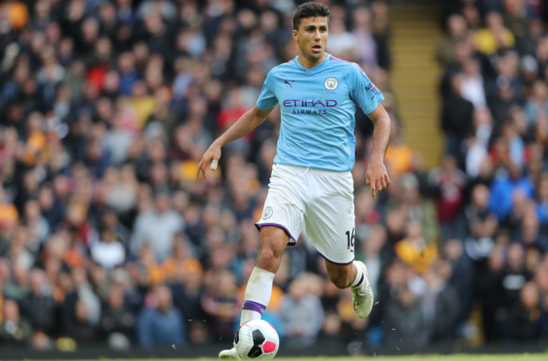 Rodri highlights Liverpool challenge.