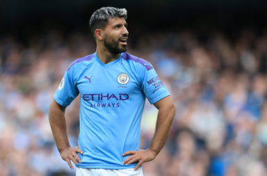 Sergio Aguero injury could be crucial to Liverpool title bid.