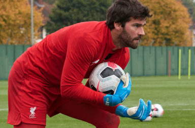 Man United this weekend is the ideal game for Alisson to return in.