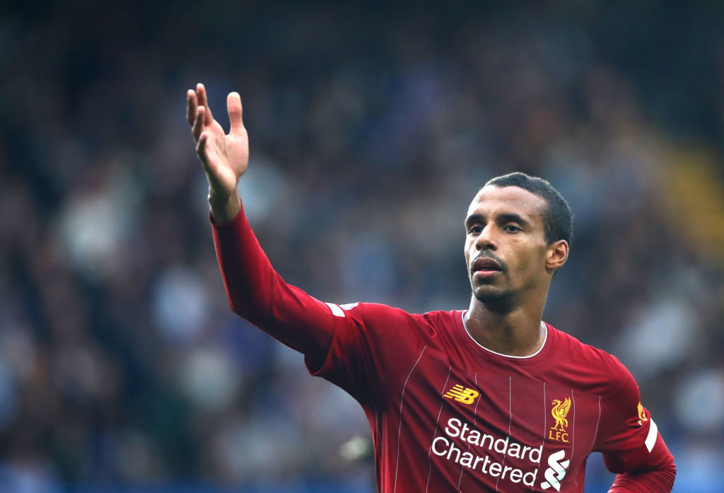 Matip was in excellent form at the start of the season.