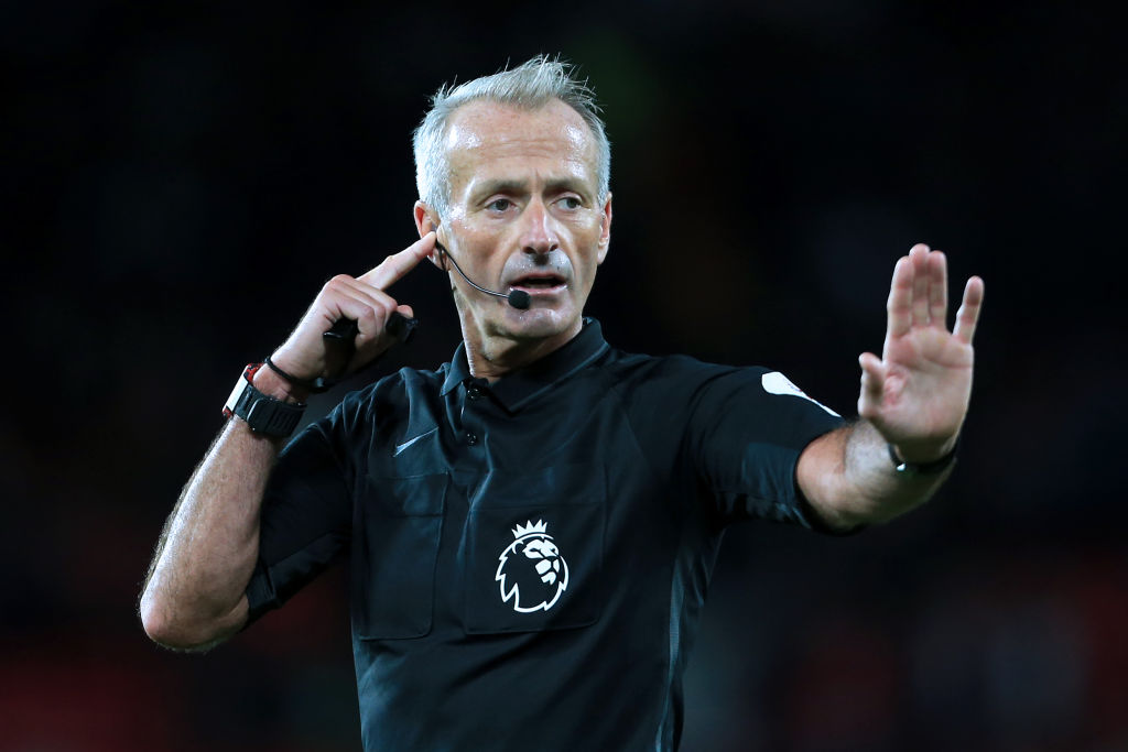 Martin Atkinson is to blame for the Brighton goal on Saturday.