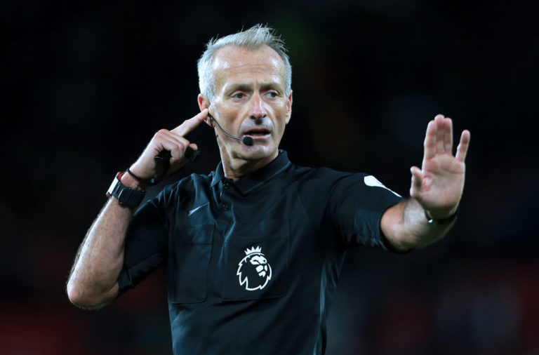 Martin Atkinson shouldn't referee Liverpool games.