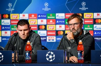 Klopp and Milner agree Liverpool must improve away form.