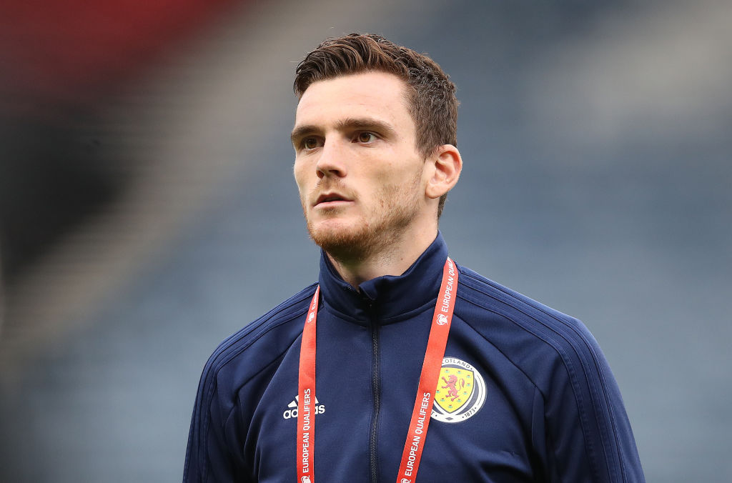 Alex McLeish has been praising Andy Robertson.