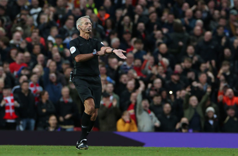 Three refereeing errors Martin Atkinson made on Sunday.