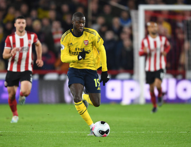Liverpool dodged a bullet by not signing Nicolas Pepe