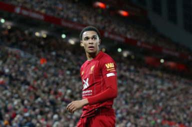 Gary Neville and others were drooling over Trent Alexander-Arnold.