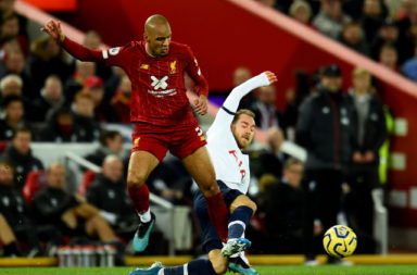 Fabinho played like Andrea Pirlo against Spurs.