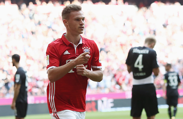 Liverpool should follow Bayern's Joshua Kimmich example.