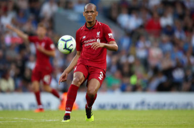 Jürgen Klopp should consider starting Fabinho at the back with Thiago in defensive midfield against Everton.