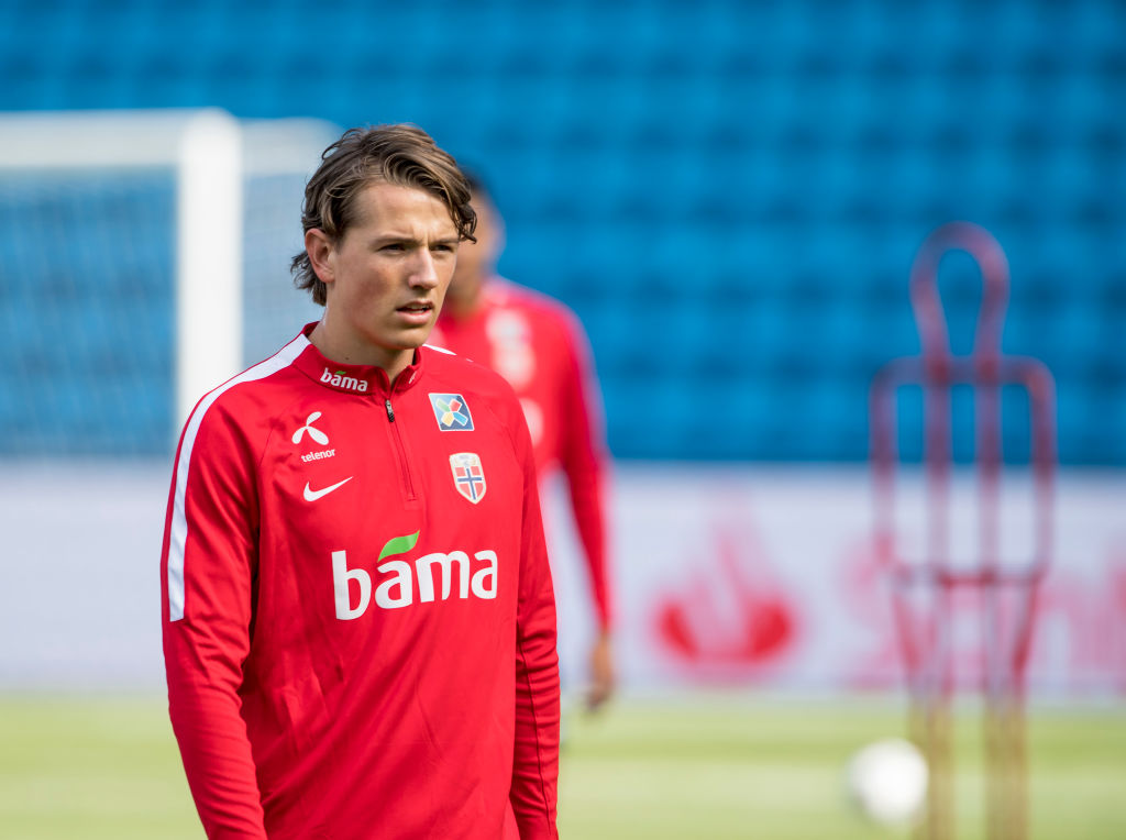 Reported Liverpool target Sander Berge has described playing at Anfield as a 'dream'.