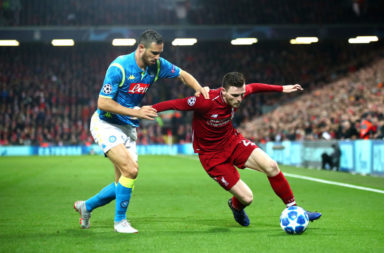 A Liverpool win against Napoli could prove vital to the Premier League title race.