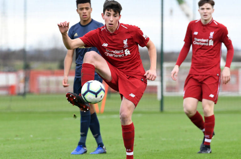 Matteo Ritaccio could prove a landmark in the future of Liverpool FC.