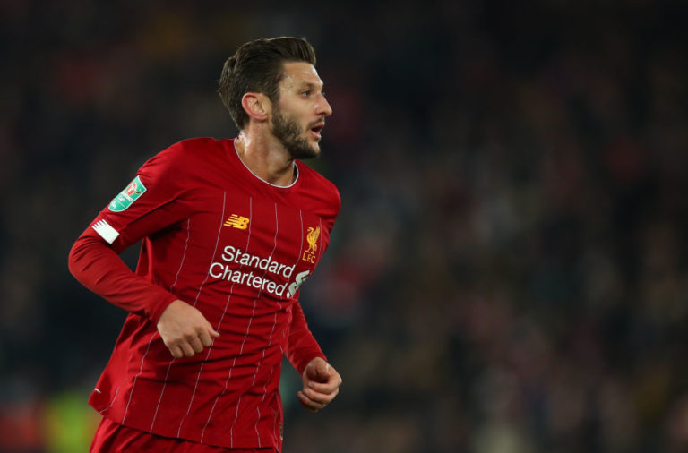 According to reports, Adam Lallana is wanted by PSG.