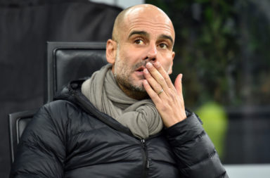 "Pep Guardiola has said that it is ""unrealistic"" to think that Manchester City could catch Liverpool"