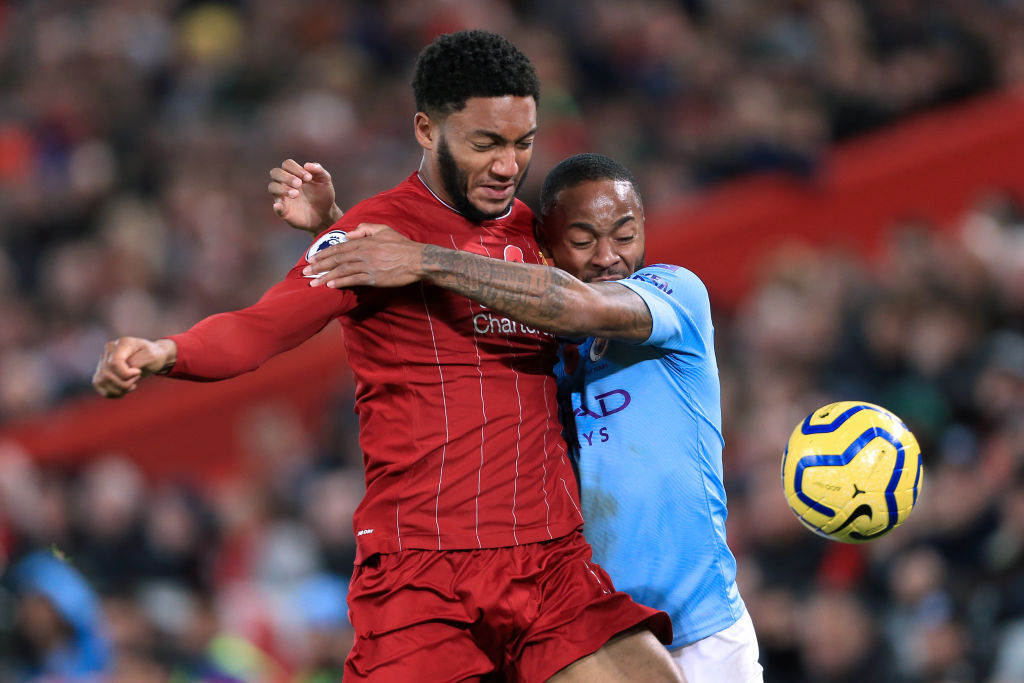 Twitter has reacted to the latest Joe Gomez and Raheem Sterling bust up.