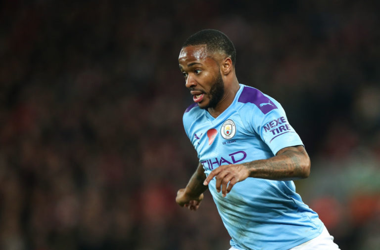 Twitter has reacted after Raheem Sterling refused to rule out a Liverpool return.