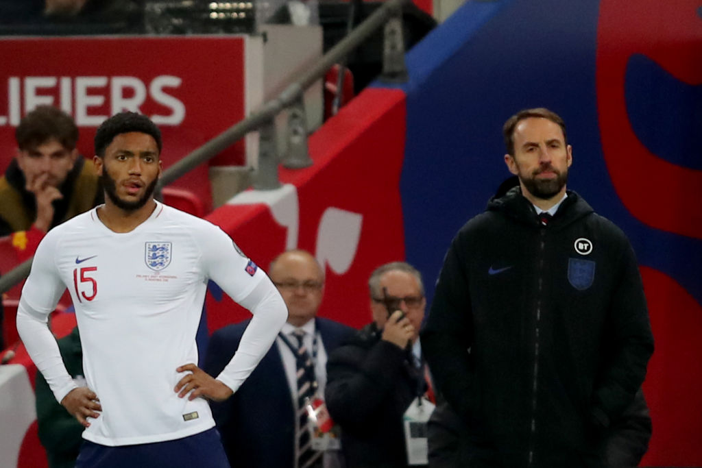 Joe Gomez has suffered an injury whilst on England duty.