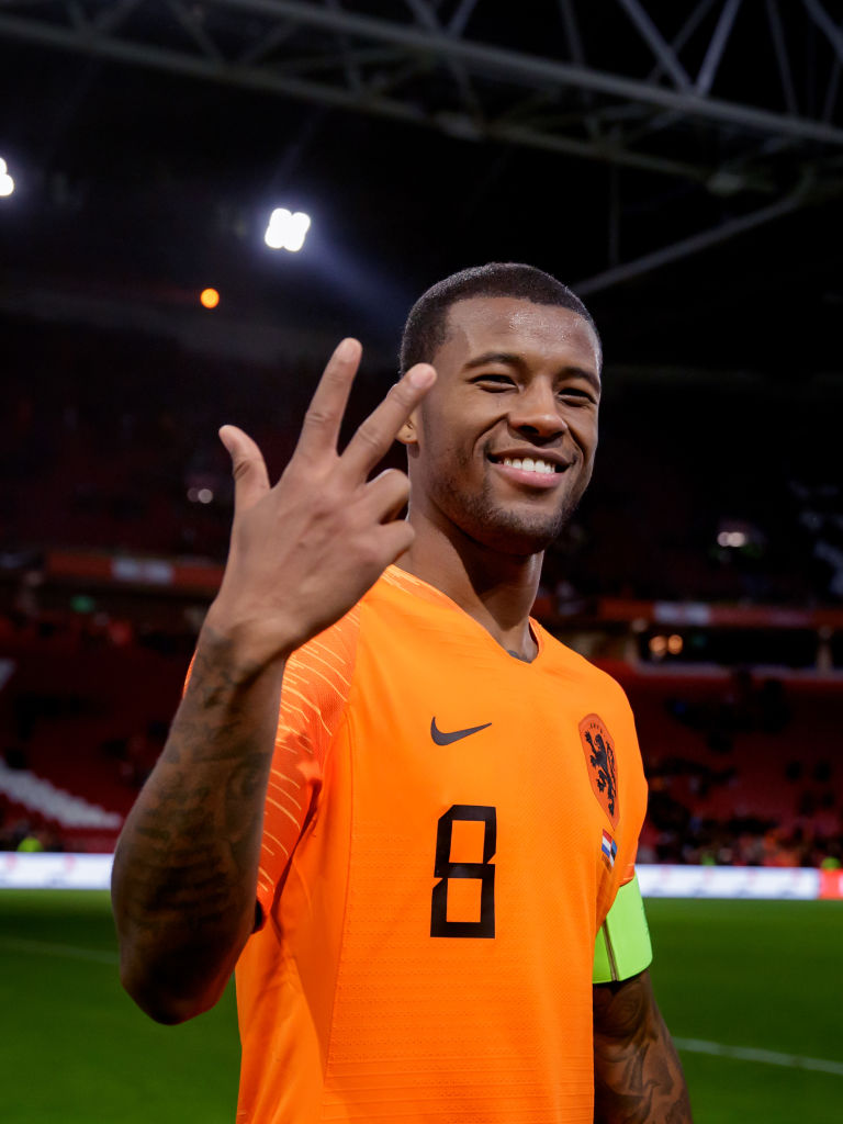 Twitter has reacted to the Gini Wijnaldum hat trick for the Netherlands