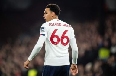 Trent Alexander-Arnold had a poor game against Crystal Palace and it couldn't have come at a better time.