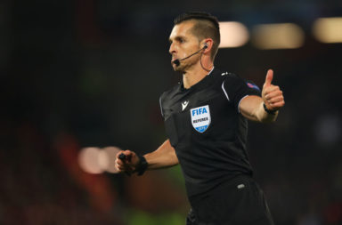 We look at three horrendous refereeing errors from Liverpool v Napoli.