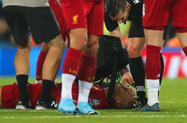 The Fabinho injury could see a switch in formation for Liverpool