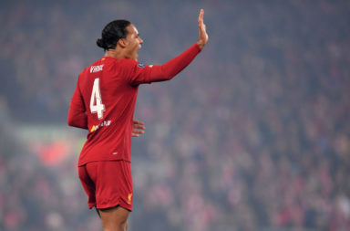 Virgil van Dijk does well in the Liverpool player ratings against Manchester City.