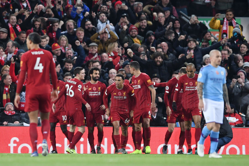 Liverpool can increase 11-point Premier League points gap before Christmas