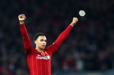 Trent Alexander-Arnold has received high praise from Peter Crouch.