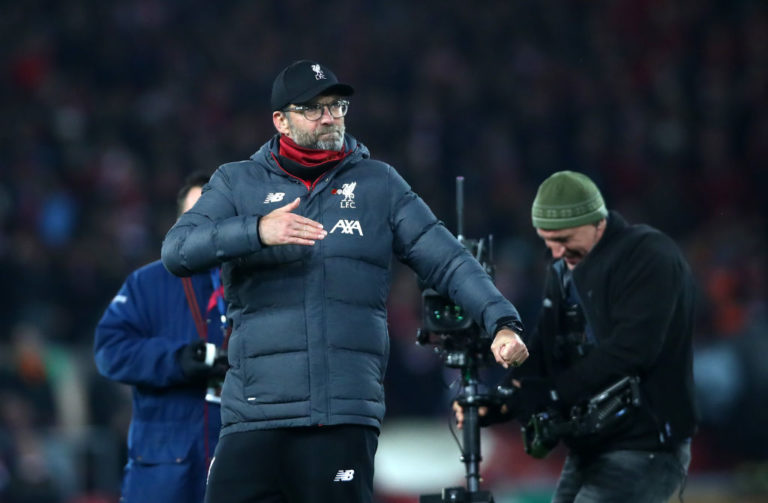 Eight-point lead has given Liverpool an unexpected bonus