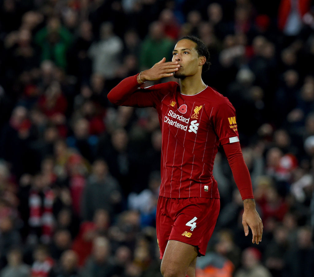 Virgil van Dijk is the best defender in the world and the form of those around him proves it.