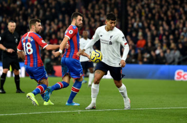 Roberto Firmino gets an 8.5 in our Liverpool player ratings against Crystal Palace.