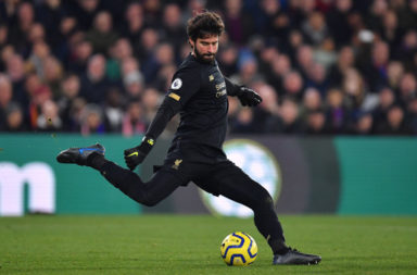 Alisson Becker will miss the Everton clash on Wednesday but it is no disaster.