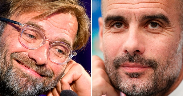 Pre match press conference shows difference in mentality between Klopp and Guardiola.