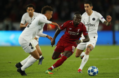 Sadio Mane could be subject to a bid from PSG