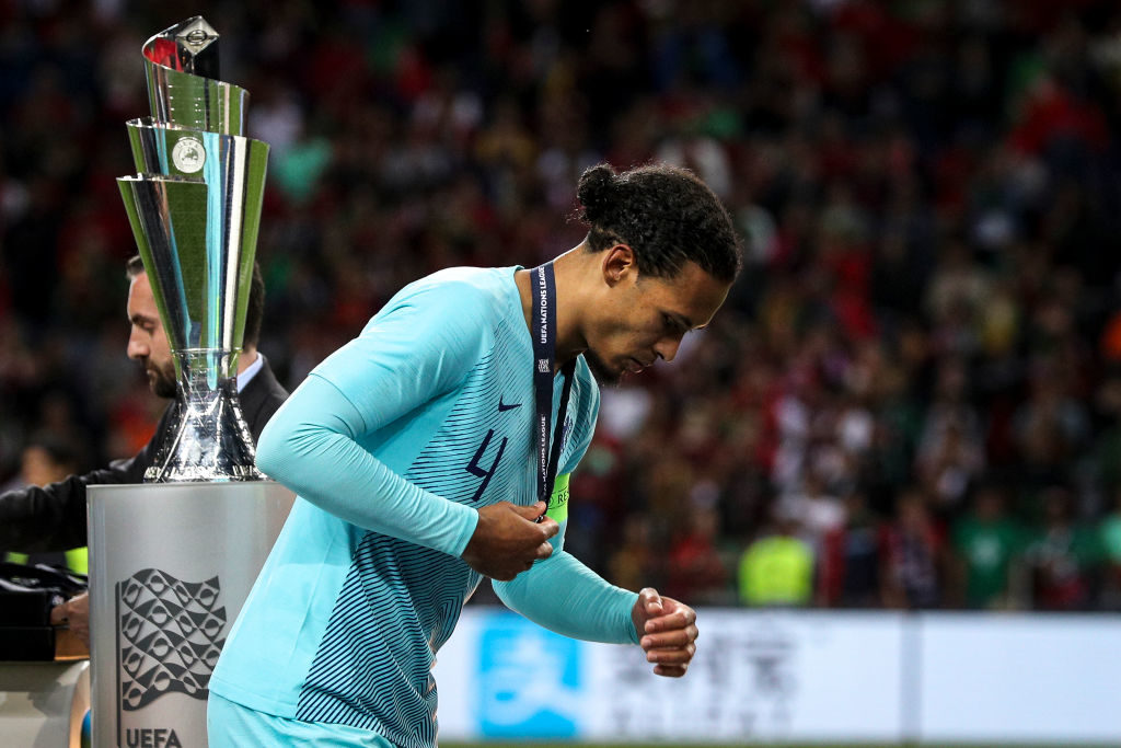 Virgil van Dijk, Nations League
