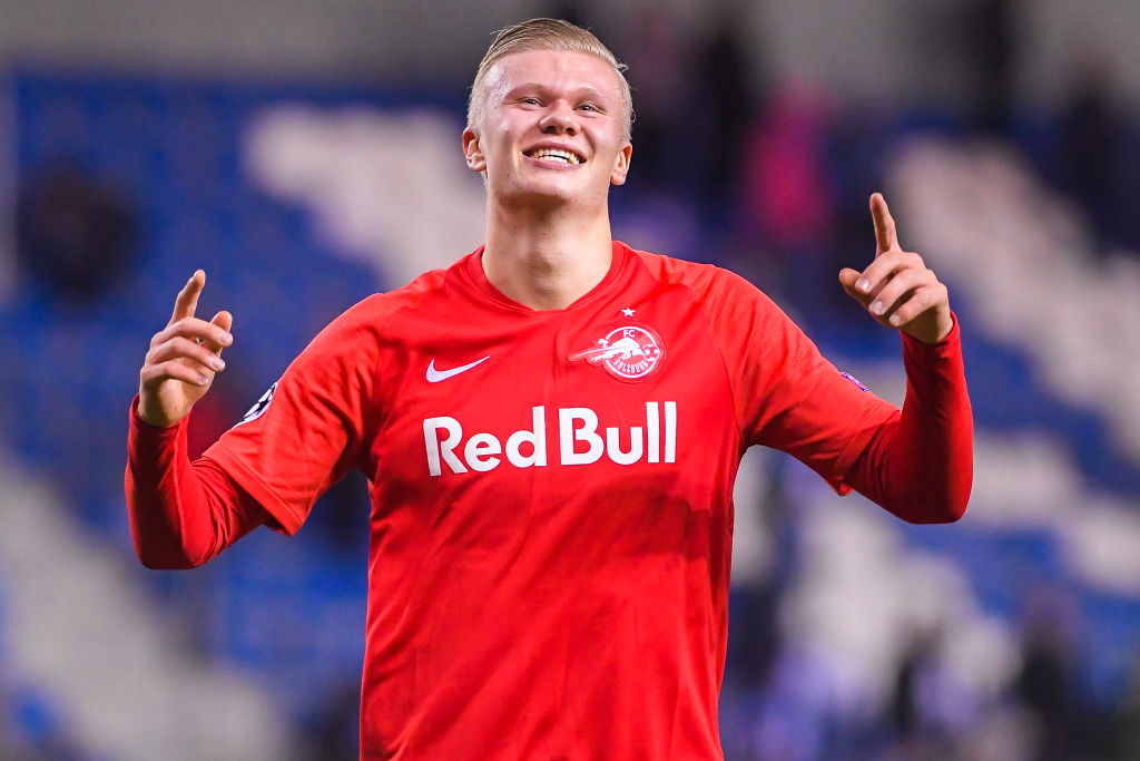 Erling Håland is one of three Red Bull Salzburg players that Liverpool will have to keep quiet.