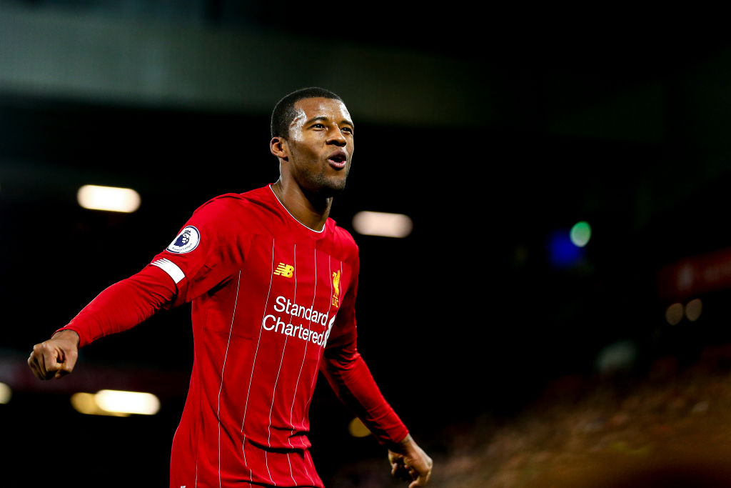 Reports have claimed that Liverpool are set to offer Gini Wijnaldum a new contract.