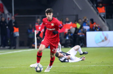 Liverpool are reported to have shown less interest in Kai Havertz than Manchester United have