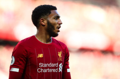 Joe Gomez has to start every game in the New Year.