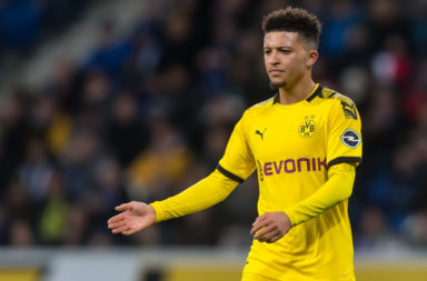 Jamie Carragher has backed Liverpool to challenge for Jadon Sancho in 2021.