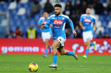 Reports have linked Liverpool with a move for Lorenzo Insigne of Napoli.