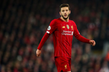 Adam Lallana has said that the Reds winning the Premier League is dependent on the whole squad.