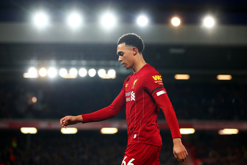 Garth Crooks has compared Trent Alexander-Arnold to Glenn Hoddle.
